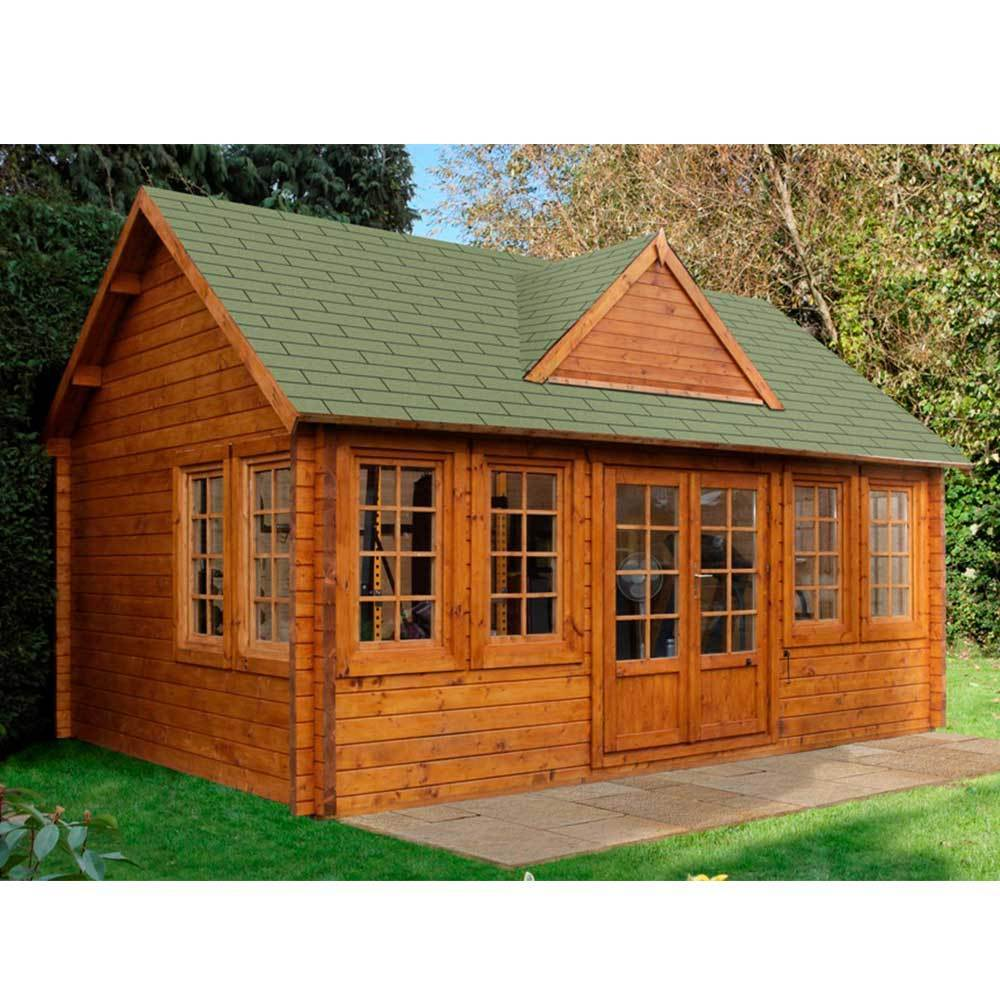 Cheviot Log Cabin 5.5 X 4.0m Summerhouse, Office, Studio