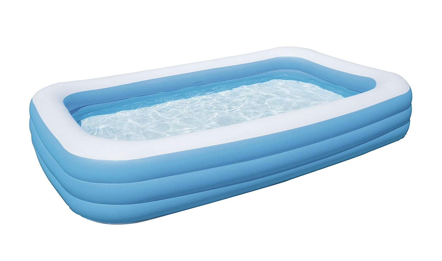 Bestway Deluxe Family Pool Blue Amp White 10ft X 6ft X 22